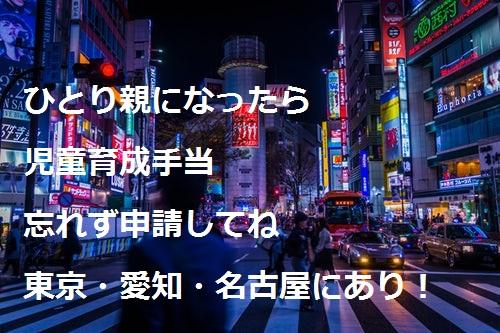 児童育成手当の所得制限は?東京だけの制度なの?埼玉県や大阪・神奈川とか他県はないの?